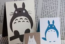 Gifts for the Totoro fan / Wonderful present ideas (I would like them all for myself!) for lovers of all things Studio Ghibli, but especially Totoro...