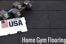 Home Gym: Ideas, Inspiration & Tips / Get easier and more convenient workouts with your home gym! Inspiring designs and tips to create a space you will LOVE to workout in!
