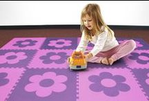 Kids Rooms & Playrooms: Ideas, Inspiration & Tips / Soft flooring, toys, decor and more inspiring ideas for your kid's playroom.