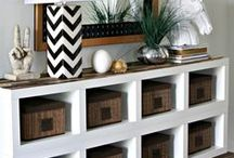 DIY Home Makeover! / Get inspired to redo your home with these gorgeous DIY home makeover projects. Learn how to get away without hiring a contractor and still make your home beautiful.