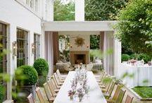 a l f r e s c o / Dine in the garden