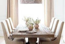 d i n i n g / dining rooms and dining spaces
