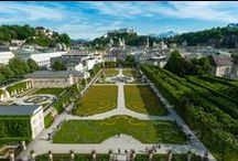 Nature in the City of Salzburg / Salzburg is an enchanting location with mountains and hills, gardens and parks, all within the city.