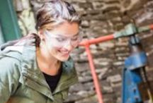Oldfield Forge Academy / We provide bespoke forging activities for every event and occasion: Wednesday Walk-in Workshop, Family Forging, Birthdays, Stag or Hen Dos, Team Building.   For bespoke commissions, discover inspiration on our website or contact us 01981 580016 / 07716 152 354.