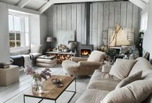 Dream Home / Fashion is not my only passion, I am a real enthusiast when it comes to home decor as well. Someday I'll have a house like this. Someday...