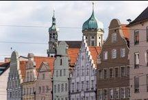 augsburg, germany - my city / Bilder aus Augsburg. Mit 280.000 Einwohner ist Augsburg die 3. grösste Stadt in Bayern. 2000 Jahre Geschichte, viel Wasser und Natur in der Stadt, die nahen Alpen, die Nähe zu München machen Augsburg zu einer spannenden Stadt.