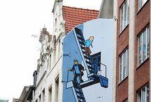 STREET ART, INSTALLATIONER / Konst