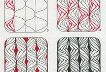 Tegning - zentangle / Zen