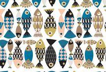 Варианты логотипа, вдохновение / Различные виды рыбок