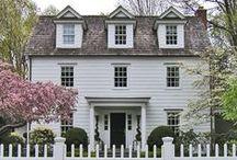 p e r f e c t  w h i t e  h o u s e / Classic white houses