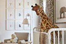 n u r s e r y / Decor ideas for a nursery