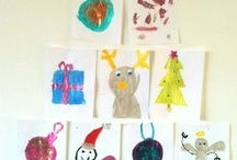 Holiday Theme Art Projects / art projects, holiday craft ideas, parenting, homeschool