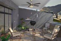Exteriores con Encanto / Imagina, inspírate y crea el patio que siempre soñaste con las ideas que te damos aquí para la decoración de tu espacio.