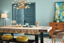 Colores para Interiores / Te compartimos algunas ideas de como combinar los colores de tu hogar para crear una armonía única.