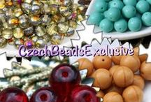 Beads / Do you like beads? Follow this board for Czech glass beads and other beads!  || www.CzechBeadsExclusive.com