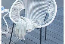 Muebles para patio y jardín / Comodidad y estilo en el exterior de tu casa, haz de este espacio el centro atención para tus visitas.