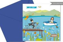 INVITACIONES DE BODA PERSONALIZADAS / Distintos modelos de invitaciones de boda XuxuLanstrum