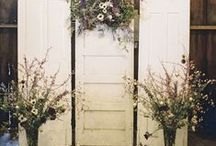 WEDDINGS VINTAGE AND RUSTIC MEET ARCHITECTURAL SALVAGE / Ahhh love is in the air and weddings are being planned.  We have had more than 8 couples come searching for vintage ideas in the last month. So we decided to give you a wedding board, ideas from repurposed items and some made from salvaged wood.