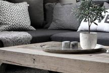Beautiful scandinavian inspired interior / Inspiration for my home
