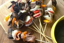 Fresh Grilled Foods / Gather your family and friends, break out the grill and create mouthwatering fresh meals.