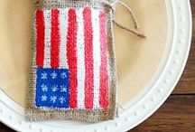 Patriotic Parties / Celebrate the 4th of July with these festive recipes, crafts and upcycled projects.
