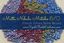 Seed 6/0 Matubo Czech Glass Beads: Tutorials, Patterns, Inspirations