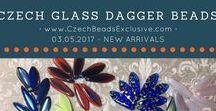Czech Glass Dagger Beads: Tutorials, Patterns, Inspirations