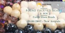Fire Polished Faceted Czech Glass Beads: Tutorials, Patterns, Inspiration / Faceted Fire Polished Round Czech Glass Beads: Tutorials, Patterns, Inspirations