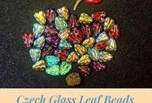 Leaf Czech Glass Beads: Tutorials, Patterns, Inspiration