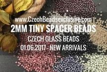 Round 2mm Tiny Spacer Czech Glass Beads: Tutorials, Patterns, Inspiration