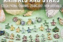 Czech Patina Charms Exclusive: Tutorials, Patterns, Inspirations
