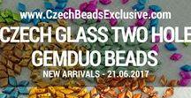 GemDuo Czech Glass Beads: Tutorials, Patterns, Inspiration