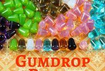 Gumdrop Czech Glass Beads: Tutorials, Patterns and Ispiration / Gumdrop Czech Glass Beads: Tutorials, Patterns and Ispiration
