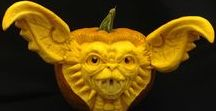 Pumpkin Carvings / 3D Pumpkin Carving by Theressa Wright