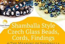 Shamballa Style Czech Glass Beads, Cords, Findings and the Meaning of Shamballa Beads / Shamballa Style Czech Glass Beads, Cords, Findings and the Meaning of Shamballa Beads