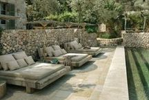 Outdoor, Patio and Courtyards.