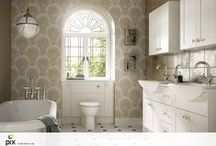 Bathroom Traditional / Design and product solutions for the most indulgent room in the house created by team Set Visions.