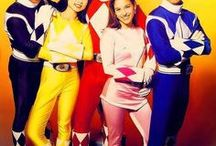 Power Rangers / The tv show that started with MMPR in the US