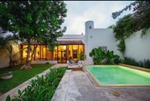 Merida Vacation Rentals / Colonial houses in Mérida. Luxurious and private homes in the most secure city in México.