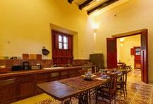 Spanish Colonial Kitchens in Mexico / Traditional kitchens of a earlier era