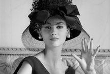 Vintage Fashion Photo BW / Vintage fashion black and white photograph that inspire Barney Barnato