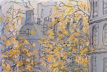 Autumn/ Jesień rysowana :) / All about the Autumn/ Wszystko o jesieni