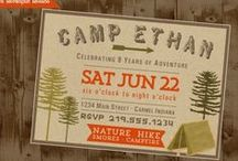 Rustic Party Invitations / Invitations for your rustic style party.