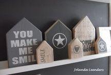 Creatief met hout!