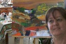 MY WORK / Tableaux peints la plupart à partir de la couleur et que l'on retrouve sur mon site  www.rosianepriam.com