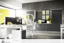 Offices-home and commerical / Creative office designs for both the home and commercial use