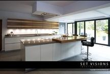 Location photography: kitchens / Location photography for one of our kitchen manufacturer customers