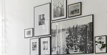 Creative Ways to Hang Artwork / YourArtGallery.com is dedicated to providing you with ideas on how to customize your space with fine works of art. Artwork and wall hangings have the power to enhance the overall mood of a space. Knowing where and how to place art is essential.