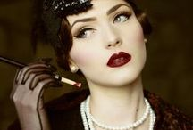 THE ROARING 1920'S / Get inspired by these 1920's looks!