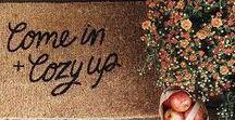 Seasonal Decor: Fall / Fall, Autumn, Pumpkins, Fall Decor, Farmhouse Fall, Neutral Fall, Apples, Wreaths, Mums, Rustic, DIY, Home Decor, Fall Decor Ideas, Mantels, White Pumpkins, Fall Tables